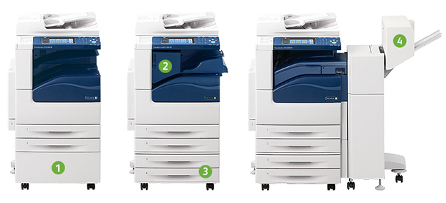 Cho thuê máy photocopy tại Tây Hồ Hà Nội