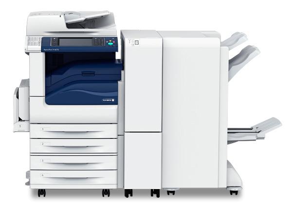 DocuCentre-V 5070/4070 được trang bị bộ finisher (full option)