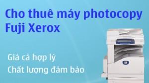 Cho thuê máy photocopy Fuji Xerox