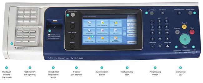 Giao diện màn hình điều khiển hỗ trợ cảm ứng