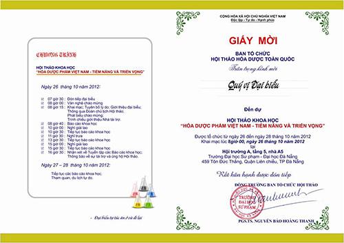 Dịch vụ in giấy mời, thiệp mời
