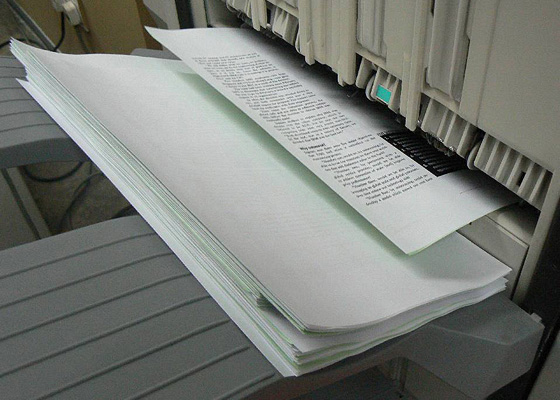 Dịch vụ in và photocopy tài liệu A3, A4 đen trắng